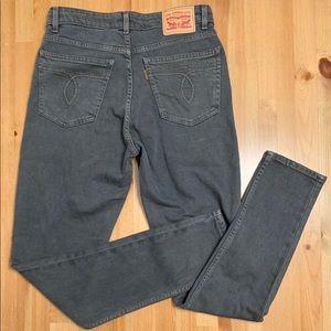 LEVIS Vintage 721 Highrise Skinny Jean
